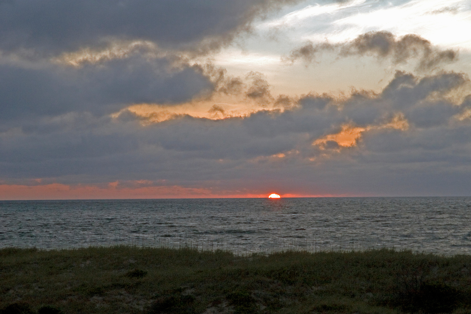 Sunrise in the Outer Banks, NC