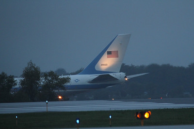 Air Force One at Akron Canton Airport (CAK) - 09/26/2012